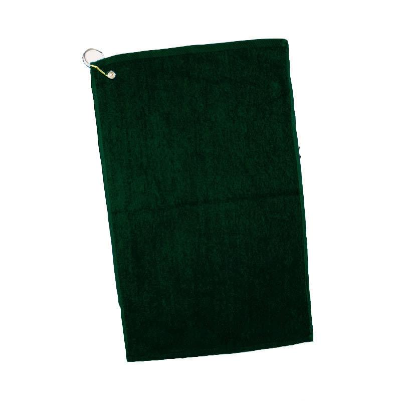 "Colored Velour Dobby Hem Golf/ Hand Towel - 1 Color (16""x25"")"