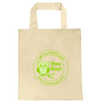 "Natural Convention Tote with Short Strap - 1 Color (15""x16"")"