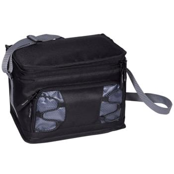 Deluxe Lunch Cooler with Bungee Cord Accent