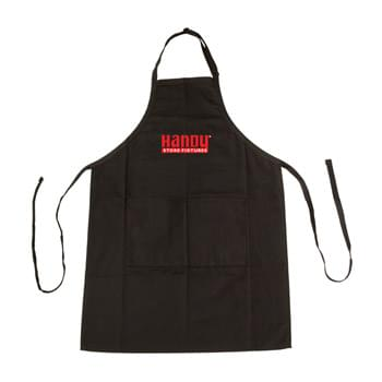 Cotton Poly Apron with Adjustable Neck