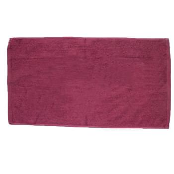 "Colored 100% Cotton Velour Beach Towel - 1 Color (30""x60"")"